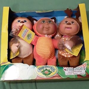 Woodland friends collectables
